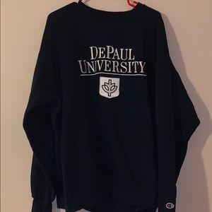 DePaul university crewneck